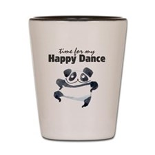 Happy Dance Panda Shot Glass