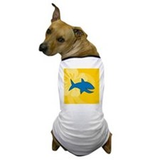 Shark Square Coaster Dog T-Shirt