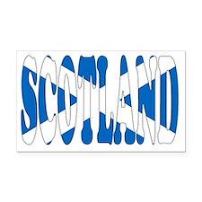 SCOTLAND Rectangle Car Magnet