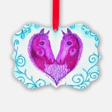 Curly Victoria Purple Ornament