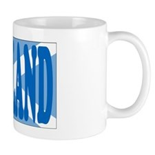 SCOTLAND Text  Flag Mug