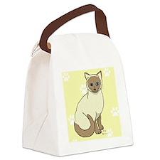 Mowgli on yellow Canvas Lunch Bag