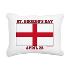 St.Georges Day Rectangular Canvas Pillow
