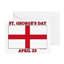 St.Georges Day Greeting Card