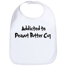 Addicted to Peanut Butter Cup Bib