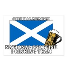 Scottish Drinking Team Postcards (Package of 8)