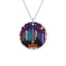 Atlanta Skyline mega color Necklace
