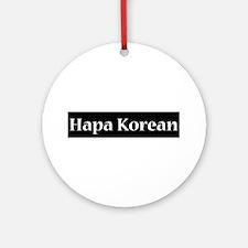 Hapa Korean Ornament (Round)