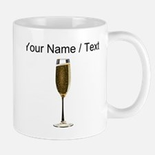 Custom Champagne Glass Mugs