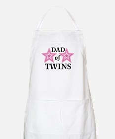 Dad of Twins (Girls) BBQ Apron