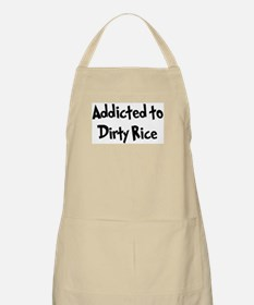 Addicted to Dirty Rice BBQ Apron