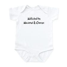 Addicted to Macaroni & Cheese Infant Bodysuit