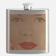 Retro Woman Flask
