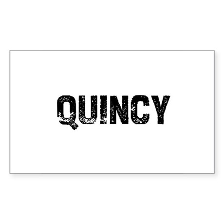 Quincy Rectangle Sticker