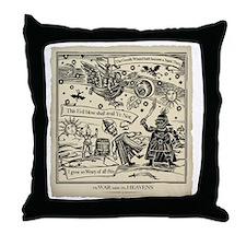 War midst the Heavens ( The original  Throw Pillow