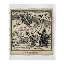War midst the Heavens ( The original Throw Blanket