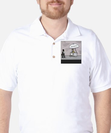 Doctorate Stand Golf Shirt