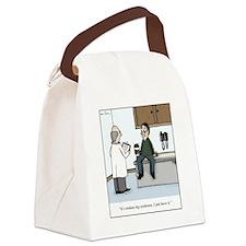 Restless Leg Canvas Lunch Bag