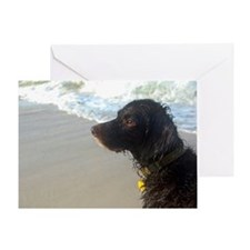 Scully Beach Profile Greeting Card