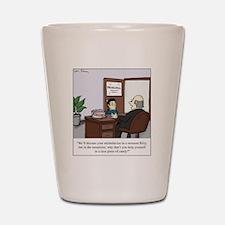 Ritalin bowl Shot Glass