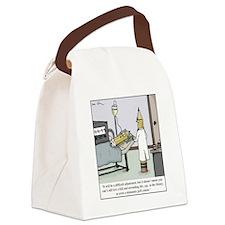 Pencil Amputation Canvas Lunch Bag