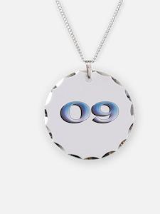 Opalescent Nine Logo Necklace