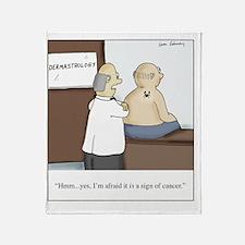 Dermastrologist Throw Blanket