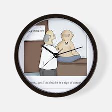 Dermastrologist Wall Clock