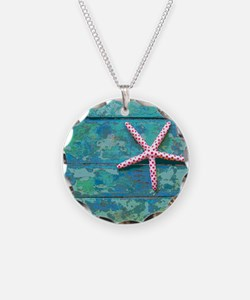 Starfish and Turquoise Rusti Necklace