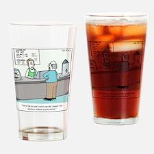 Grande Coffee Drinking Glass