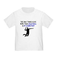 Volleyball Godmother T-Shirt
