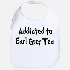 Addicted to Earl Grey Tea Bib