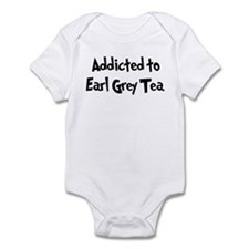 Addicted to Earl Grey Tea Infant Bodysuit