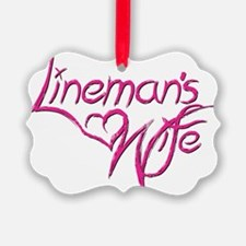 Linemans Wife Ornament