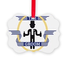The Groom (3C) Ornament
