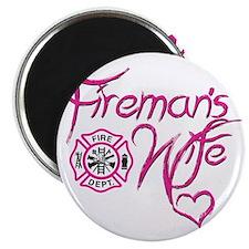 Firemans Wife Design Magnet