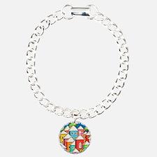 LIttle Colorful Village  Bracelet