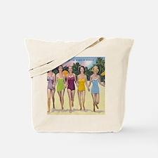 Vintage Florida Bathing Beauties Tote Bag