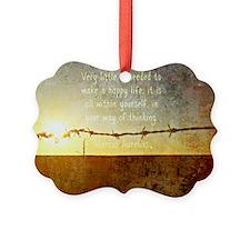 Marcus Aurelius Poster Ornament