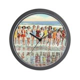 Beach house vintage Wall Clocks
