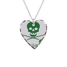 garden Necklace Heart Charm