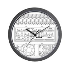 mixer back side Wall Clock