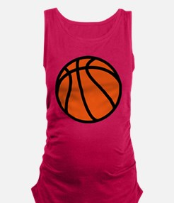 Basketball Maternity Tank Top