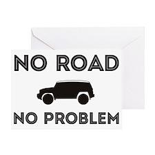 FJ Cruiser No Road No Problem Greeting Card