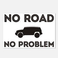 FJ Cruiser No Road No Pro Postcards (Package of 8)