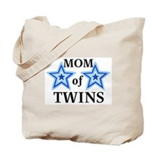 Mom of Twins (Boys) Tote Bag