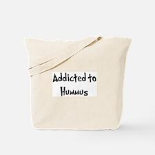 Addicted to Hummus Tote Bag