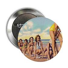 "Vintage Carolina Beach Beauties 2.25"" Button"