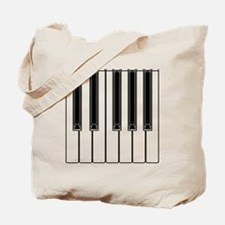 piano shower curtain Tote Bag