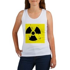 nuclear shower curtain Women's Tank Top